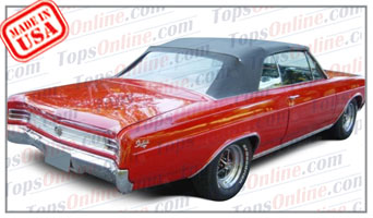 Rubber Weather Seals:1964 thru 1965 Buick Gran Sport (GS), Skylark & Special Convertible