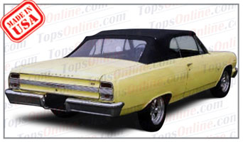 Convertible Tops & Accessories:1964 and 1965 Chevy Chevelle & Malibu