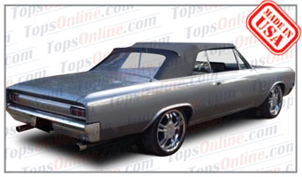 Rubber Weather Seals:1964 thru 1965 Oldsmobile 442, Cutlass & F-85 Convertible