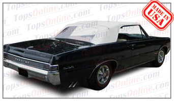 Rubber Weather Seals:1964 thru 1965 Pontiac GTO, Lemans, Tempest & Beaumont Convertible