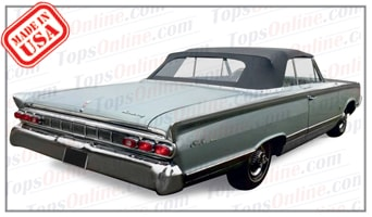 Convertible Tops & Accessories:1964 Mercury Meteor, Monterey & Parklane