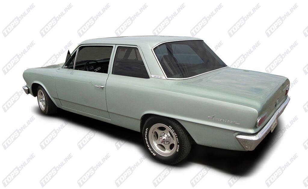 Rubber Weatherstrips:1964 thru 1968 AMC American--All Hardtop Styles