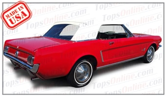 Convertible Tops & Accessories:1964 thru 1966 Ford Mustang & Mustang GT