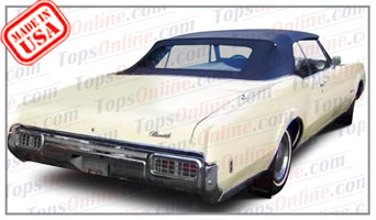 Convertible Tops & Accessories:1965 thru 1970 Oldsmobile Delmont 88, Delta 88, Dynamic 88, Jetstar 88 & Starfire