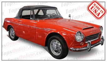 Convertible Tops & Accessories:1965 thru 1967 Datsun Sports 1600 SPL311 Fairlady
