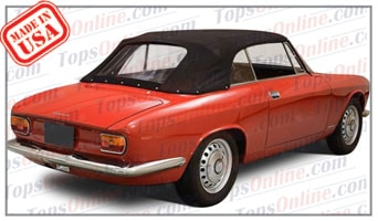 Convertible Tops & Accessories:1965 and 1966 Alfa Romeo GTC