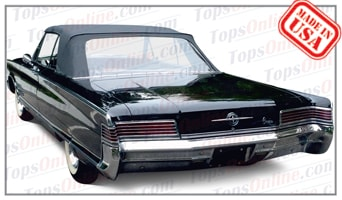 Convertible Tops & Accessories:1965 and 1966 Chrysler 300, 300L & Newport