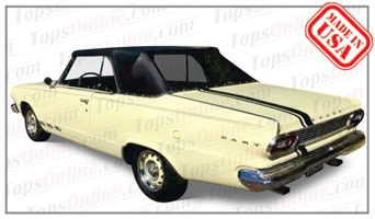 Convertible Tops & Accessories:1965 and 1966 Dodge Dart 270 & Dart GT (A Body)