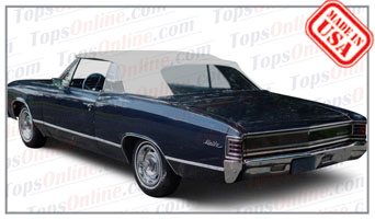 Convertible Tops & Accessories:1966 thru 1967 Chevy Chevelle, Malibu & SS