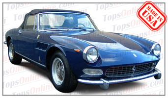 Convertible Tops & Accessories:1966 and 1967 Ferrari 275 GTS & 330 GTS