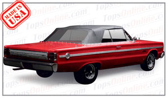 1966 Plymouth Belvedere B Body Convertible Tops And