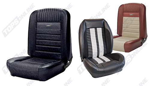 Seat Covers:1966 Ford Mustang and Shelby (Convertible, Coupe and Fastback) Deluxe Upholstery