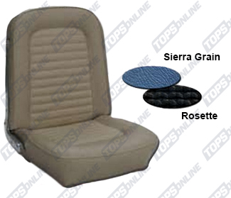 Seat Covers:1966 Ford Mustang and Shelby (Convertible, Coupe and Fastback) Standard Upholstery