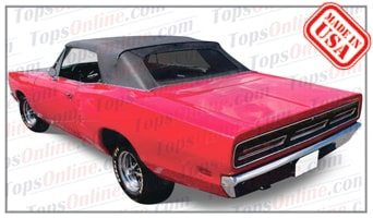 Convertible Tops & Accessories:1967 thru 1970 Dodge Coronet 440, 500 & R/T (B Body)