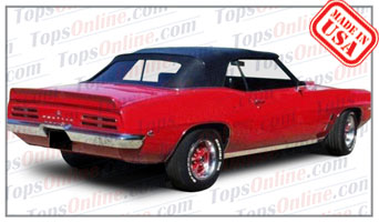 Convertible Tops & Accessories:1967 thru 1969 Pontiac Firebird & Trans Am