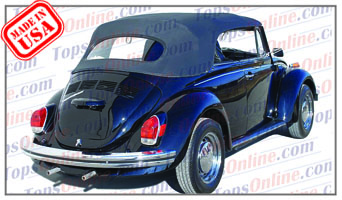 Convertible Tops & Accessories:1967 thru 1972 Volkswagen Beetle & Super Beetle