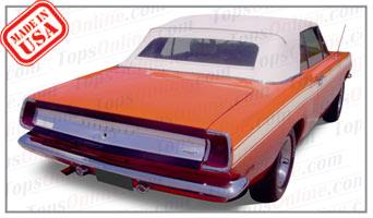 Convertible Tops & Accessories:1967 thru 1969 Plymouth Barracuda (A Body)