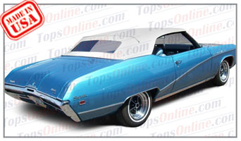 Convertible Tops & Accessories:1968 thru 1972 Buick Gran Sport (GS-GS400-GS455) & Skylark