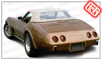 Convertible Tops & Accessories:1968 thru 1975 Chevy Corvette (C3)