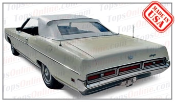 Convertible Tops & Accessories:1969 thru 1972 Mercury Monterey & Marquis