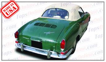 Convertible Tops & Accessories:1969 thru 1976 Volkswagen Karmann Ghia