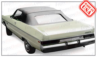 Convertible Tops & Accessories:1969 and 1970 Plymouth Fury III & Sport Fury