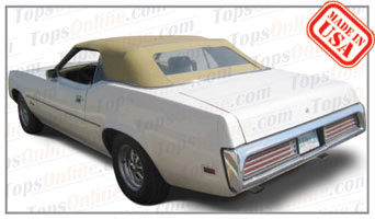Convertible Tops & Accessories:1971 thru 1973 Mercury Cougar & XR7