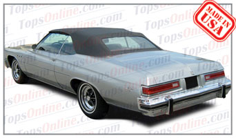 Convertible Tops & Accessories:1971 thru 1976 Buick Centurion & Lesabre
