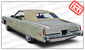 Convertible Tops & Accessories:1971 thru 1976 Cadillac Eldorado