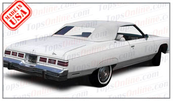Convertible Tops & Accessories:1971 thru 1976 Chevy Caprice Classic & Impala