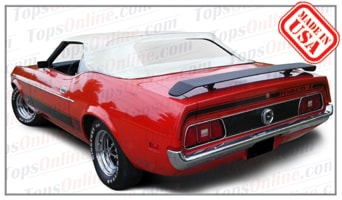 Convertible Tops & Accessories:1971 thru 1973 Ford Mustang