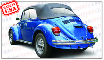 Convertible Tops & Accessories:1973 thru 1979 Volkswagen Beetle & Super Beetle