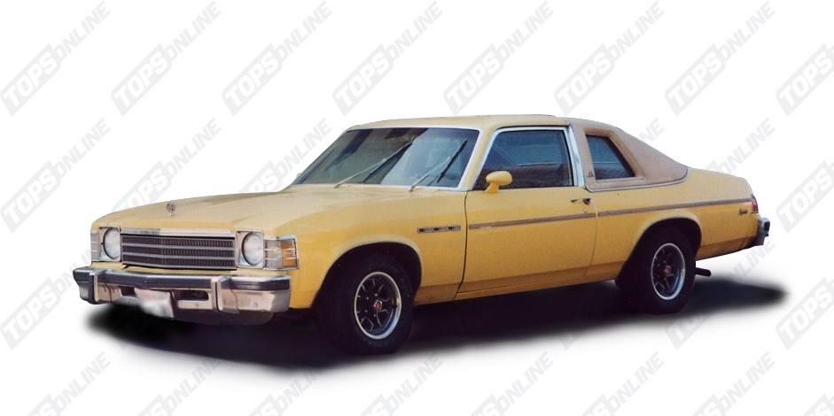 Landau Tops:1975 thru 1977 Buick Apollo
