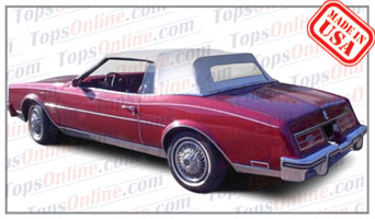 Convertible Tops & Accessories:1982 thru 1986 Buick Riviera (ASC Conversion)
