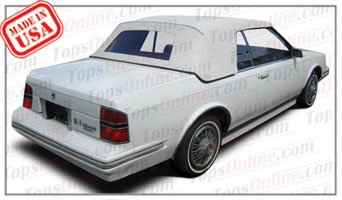 Convertible Tops & Accessories:1982 thru 1986 Oldsmobile Cutlass Ciera (H & E Conversion)