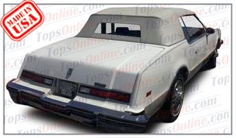 Convertible Tops & Accessories:1982 thru 1986 Oldsmobile Toronado (ASC Conversion)