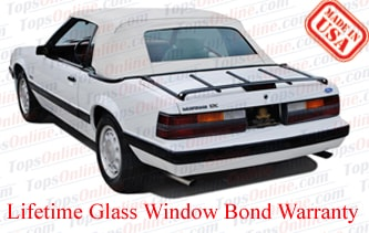 Convertible Tops & Accessories:1983 thru 1990 Ford Mustang (GLX, GT, LX)