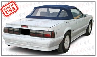 Convertible Tops & Accessories:1984 thru 1986 Ford Mustang McLaren (ASC Conversion)