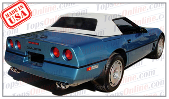 Convertible Tops & Accessories:1986 thru 1993 Chevy Corvette (C4)