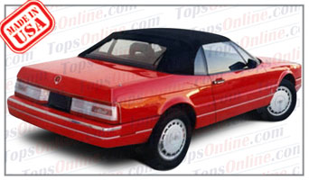 Convertible Tops & Accessories:1987 thru 1993 Cadillac Allante
