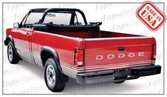 1989 Thru 1991 Dodge Dakota Pickup Convertible Tops