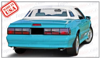 Convertible Tops & Accessories:1989 thru 1990 Ford Mustang McLaren (ASC Conversion)