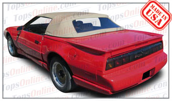 Convertible Tops & Accessories:1990 thru 1993 Pontiac Firebird & Trans Am
