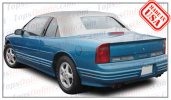 Convertible Tops & Accessories:1991 Oldsmobile Cutlass & Cutlass Supreme