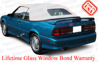 Convertible Tops & Accessories:1992 thru 1993 Chevy Cavalier, Cavalier RS & Cavalier Z24