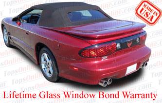 1994 2002 pontiac firebird trans am convertible tops. Black Bedroom Furniture Sets. Home Design Ideas