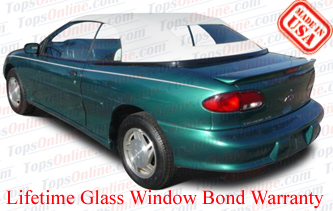 Convertible Tops & Accessories:1995 thru 1998 Chevy Cavalier, Cavalier LS & Cavalier Z24