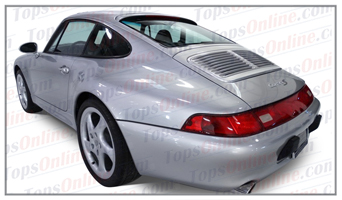 Seat Covers:1995 thru 1998 Porsche 911 - 993 Carrera, Carrera 4 & Turbo
