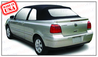 Convertible Tops & Accessories:1995 thru 2001 Volkswagen Cabrio & Golf 3