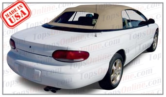 Convertible Top Installation Videos:1996 thru 2006 Chrysler Sebring GTC, JR, LX, LXI & Limited